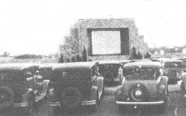 Drive In Theater History